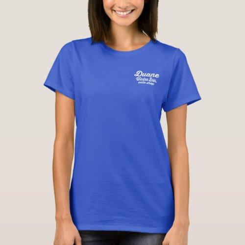 Winston Bros Auto Shop Shirt _ Duane