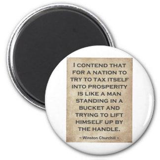 Winston Churchill #1 Imán Redondo 5 Cm