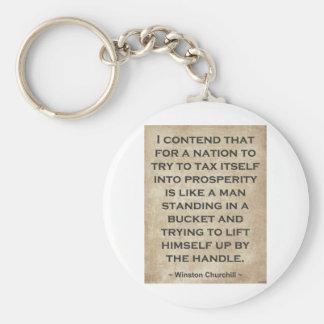 Winston Churchill #1 Keychain