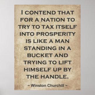 Winston Churchill #1 Impresiones