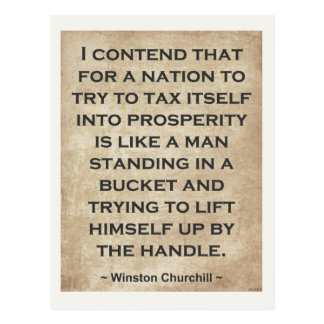 Winston Churchill #1 Postcard