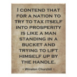 Winston Churchill #1 Poster