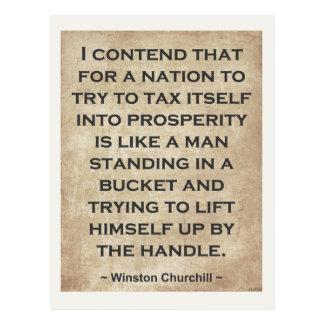 Winston Churchill 1 Tarjeta Postal