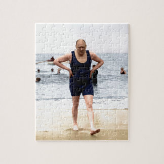 Winston Churchill at the seaside Puzzle