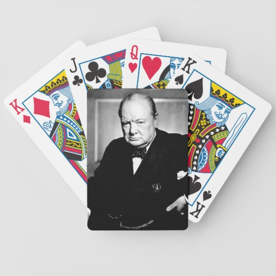 Winston Churchill Bicycle Playing Cards
