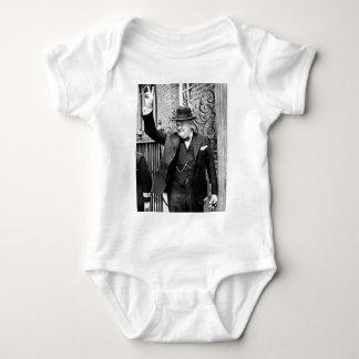 Winston Churchill Body Para Bebé