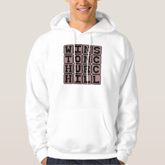 Winston Churchill, British Politician Hoodie