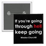 Winston Churchill Button