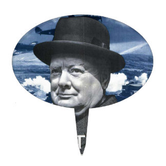 Winston Churchill Cake Topper