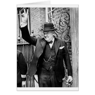 Winston Churchill Card
