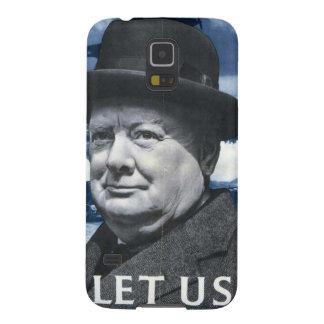 Winston Churchill Galaxy S5 Cover