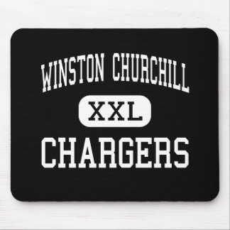 Winston Churchill - Chargers - High - San Antonio Mouse Pad