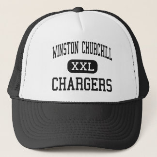 Winston Churchill - Chargers - High - San Antonio Trucker Hat