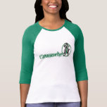 Winston Churchill de las mujeres 3/4 camiseta de l