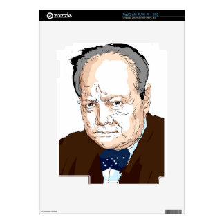 Winston Churchill Decals For The iPad 2