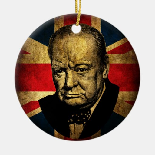 Winston Churchill Adornos De Navidad