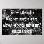 Winston Churchill: Éxito Impresiones