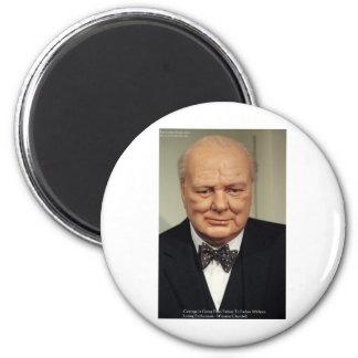 Winston Churchill Failure Wisdom Quote Gifts Refrigerator Magnets
