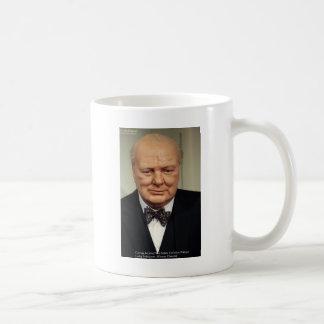 Winston Churchill Failure Wisdom Quote Gifts Mug
