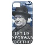 Winston Churchill Funda Para iPhone 5 Barely There