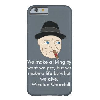 Winston Churchill Inspirational Phone Cover