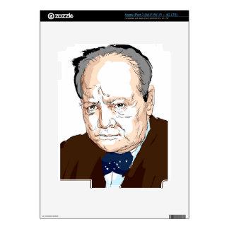 Winston Churchill iPad 3 Decal