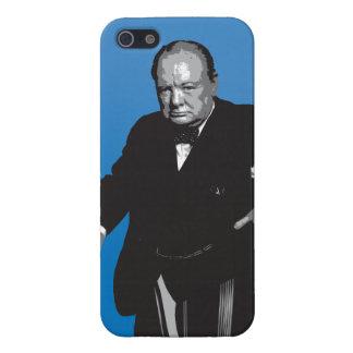 Winston Churchill iPhone 5 Fundas