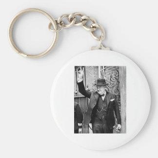 Winston Churchill Keychain