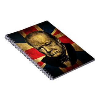 Winston Churchill Libro De Apuntes