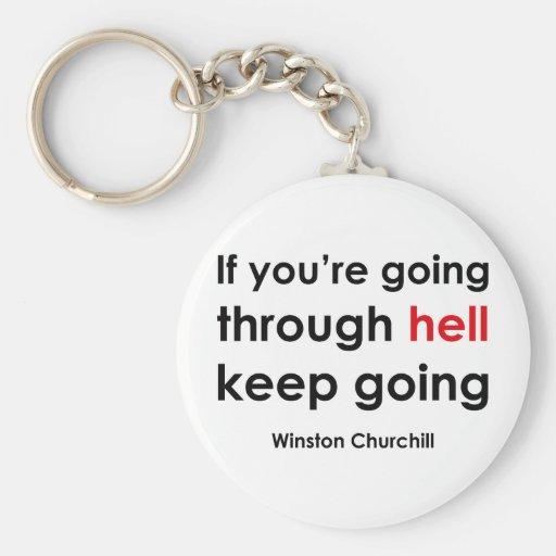 Winston Churchill Llavero Personalizado