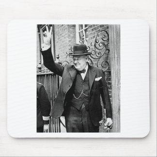 Winston Churchill Mouse Pad