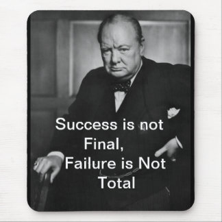 Winston Churchill - Mousepad - éxito