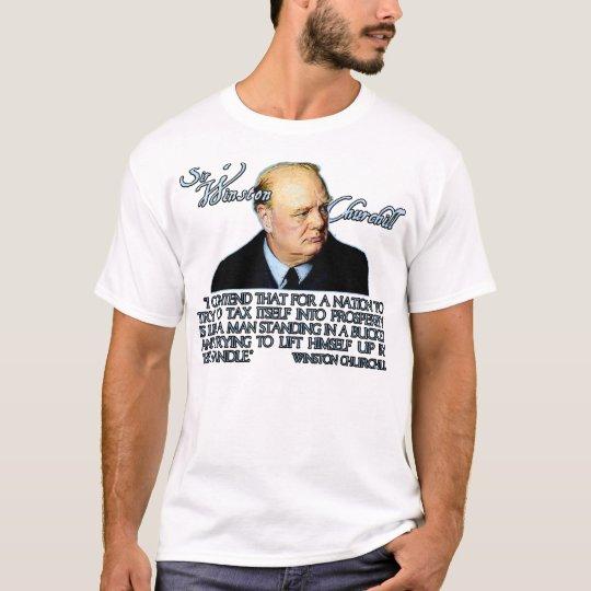 Winston Churchill Playera
