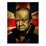 Winston Churchill Postcard
