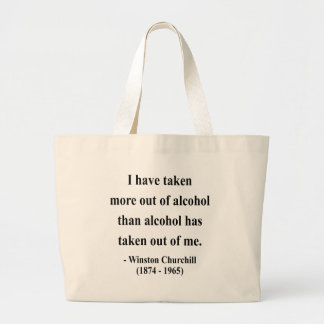 Winston Churchill Quote 12a Bags