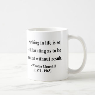 Winston Churchill Quote 13a Coffee Mug