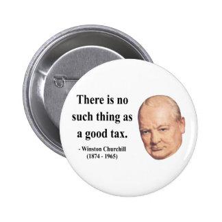 Winston Churchill Quote 14b Pinback Button