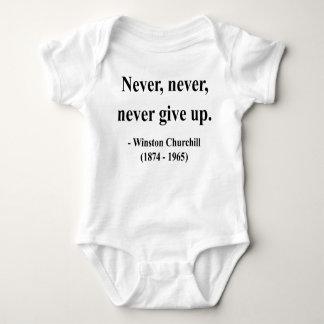 Winston Churchill Quote 1a Baby Bodysuit