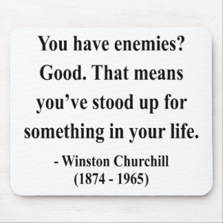 Winston Churchill Quote 3a Mouse Pad