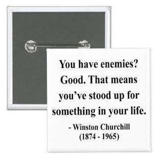 Winston Churchill Quote 3a Pinback Button