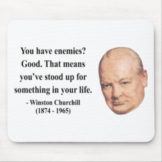 Winston Churchill Quote 3b Mouse Pad
