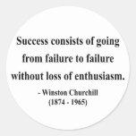 Winston Churchill Quote 5a Stickers