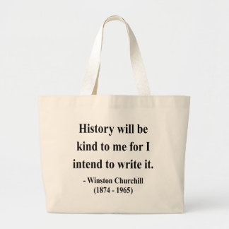 Winston Churchill Quote 7a Canvas Bag