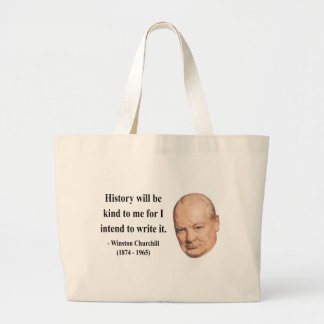 Winston Churchill Quote 7b Canvas Bags