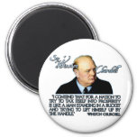 Winston Churchill Quote on Taxation Refrigerator Magnets