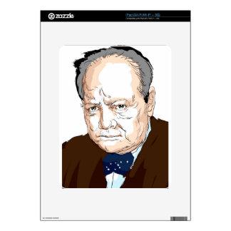 Winston Churchill Skin For iPad