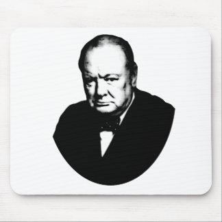 Winston Churchill Mouse Pads