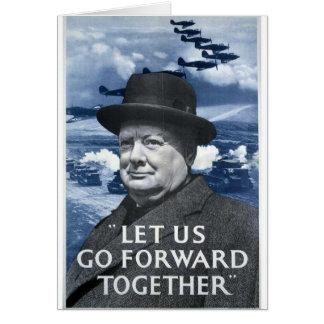 Winston Churchill Tarjetón