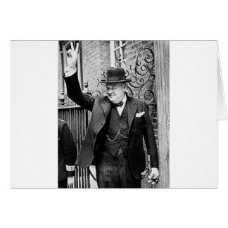 Winston Churchill Tarjeta De Felicitación