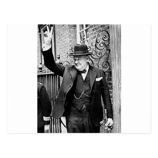 Winston Churchill Tarjetas Postales